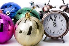 圣诞节读秒 免版税图库摄影