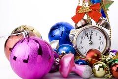圣诞节读秒 免版税库存照片