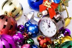 圣诞节读秒 免版税库存图片