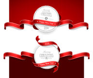 圣诞节象征 免版税库存图片