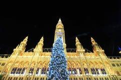 圣诞节豪华维也纳 免版税库存图片