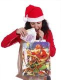 圣诞节货币 库存图片