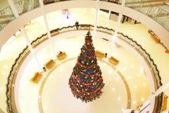 圣诞节购物中心 库存图片