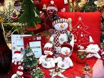 圣诞节购物销售额 库存照片