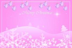 圣诞节贺卡模板设计 库存图片