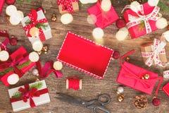 圣诞节赠礼 免版税库存照片