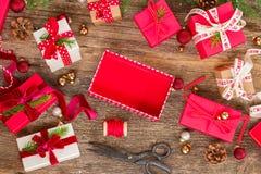 圣诞节赠礼 图库摄影