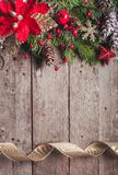 圣诞节边界设计 图库摄影