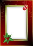 圣诞节边界 向量例证