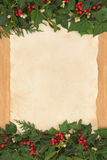 圣诞节边界 免版税库存照片
