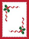 圣诞节边界1 免版税库存照片