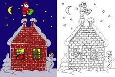 圣诞节迷宫 库存图片