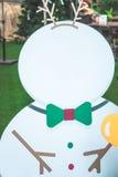 圣诞节送冰人 免版税库存图片