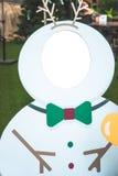 圣诞节送冰人 免版税库存照片