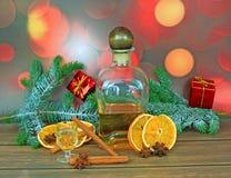 圣诞节酒精 图库摄影