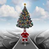 圣诞节重音指南 免版税库存图片