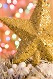 圣诞节金星形 库存照片