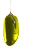 圣诞节金鼠标 免版税图库摄影