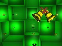 圣诞节铃声包裹 免版税库存照片