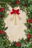 圣诞节铃声装饰 库存照片