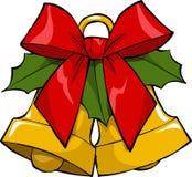 圣诞节铃声 免版税库存图片