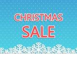 圣诞节销售背景 库存照片