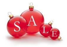 圣诞节销售额装饰品 库存照片