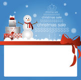 圣诞节销售额 库存照片