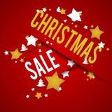 圣诞节销售 库存照片