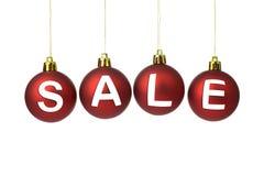 圣诞节销售 免版税库存照片
