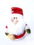 圣诞节长毛绒圣诞老人 免版税库存照片