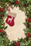 圣诞节长袜 库存照片