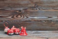 圣诞节门铃 库存照片