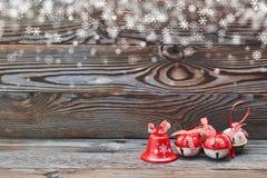 圣诞节门铃 免版税库存照片