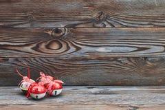 圣诞节门铃 图库摄影