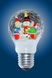 圣诞节闪亮指示 免版税库存图片