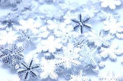圣诞节闪亮金属片 库存照片