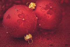 圣诞节闪烁背景 库存图片