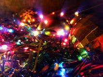 圣诞节闪闪发光 免版税库存图片