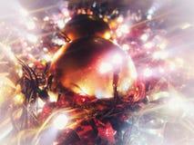 圣诞节闪闪发光 库存图片