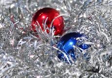 圣诞节闪闪发光 库存照片