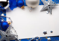 圣诞节问候 库存图片