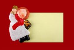 圣诞节附注 库存图片