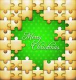 圣诞节难题背景 库存图片