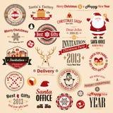 圣诞节集 免版税库存图片
