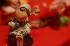 圣诞节雨鹿玩具 库存图片