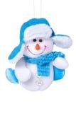 圣诞节雪人玩具 免版税库存图片