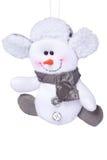 圣诞节雪人玩具 库存照片