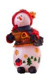 圣诞节雪人 免版税库存照片