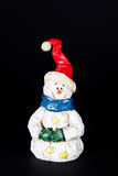 圣诞节雪人 免版税库存图片